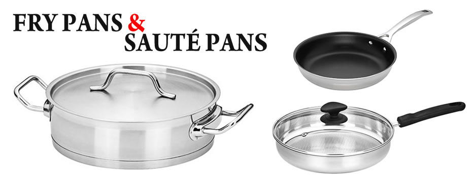 frying pans & saute pans